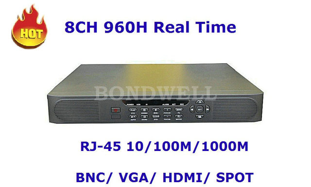Hot Sell 8CH 960H DVR Real Time With HDMI And Spot, Mac Systme Compatible, 3G Surveillance 7108HX3