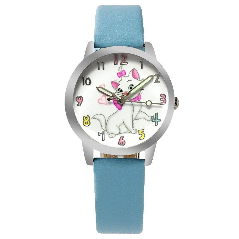 ot01 2017 new cartoon quartz-watch fashion children watch girl child student leather gift womens watches top brand luxury hoska h802s children quartz watch