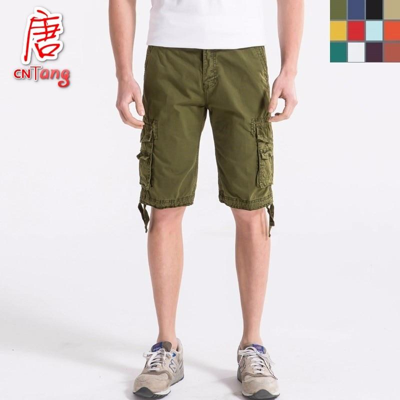 Online Get Cheap Men Long Cotton Cargo Shorts -Aliexpress.com ...