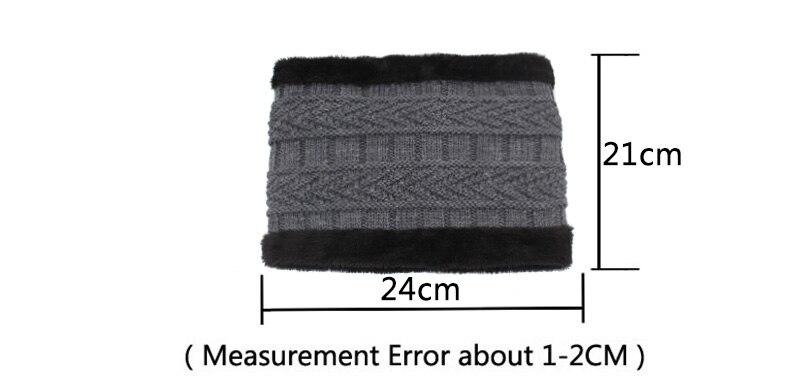 قبعات مع وشاح للرجال 14