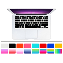 HRH RUSSIAN Letter Silicone Gel US Keyboard Cover Skin Protector Protective FILM for Apple MacBook Air