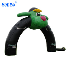 R299 Free shipping+blower Oxford cloth Christmas stage wedding decorations inflatable monkey arch/ Inflatable monkey mascot arch