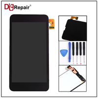 100 Tested Black For Nokia Lumia 630 635 LCD Display Touch Screen With Digitizer Assembly Free