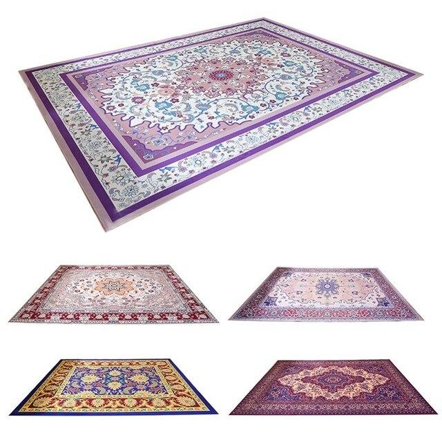 Living Room Carpet European Persian Style Mat Kids Rug Bedroom Antiskid Soft Area