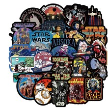 108 PCS Film Fiksi Ilmiah Star Wars Stiker Scrapbook Blu-ray HD Tahan Air Album Motor Laptop Sticker Klasik Hadiah Mainan(China)