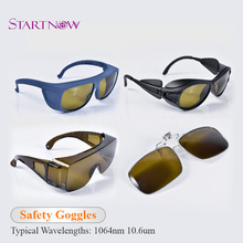 цена на 1064nm 10600nm Laser Safety Goggles Protective Glasses Shield Protection Eyewear For YAG Fiber CO2 Laser Cutting Welding Machine