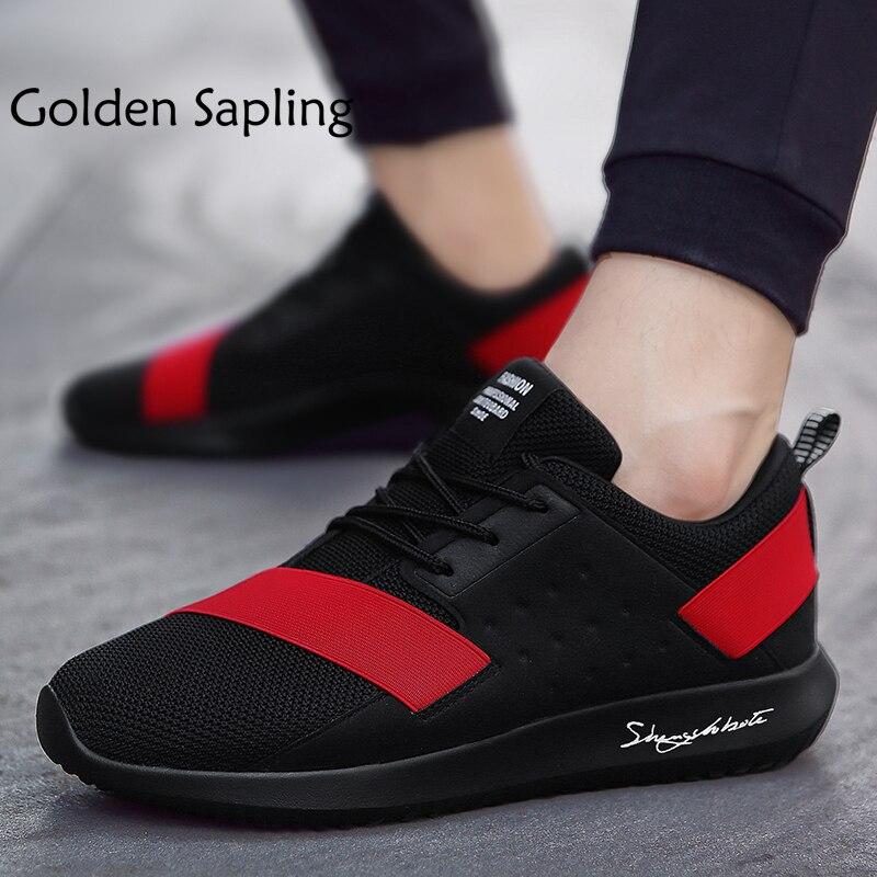 Golden Sapling Men Running Shoes Sport Winter Men's Sneakers Tenni Mens Trail Running Shoes Breathable Air Cushion Man Sneakers цена