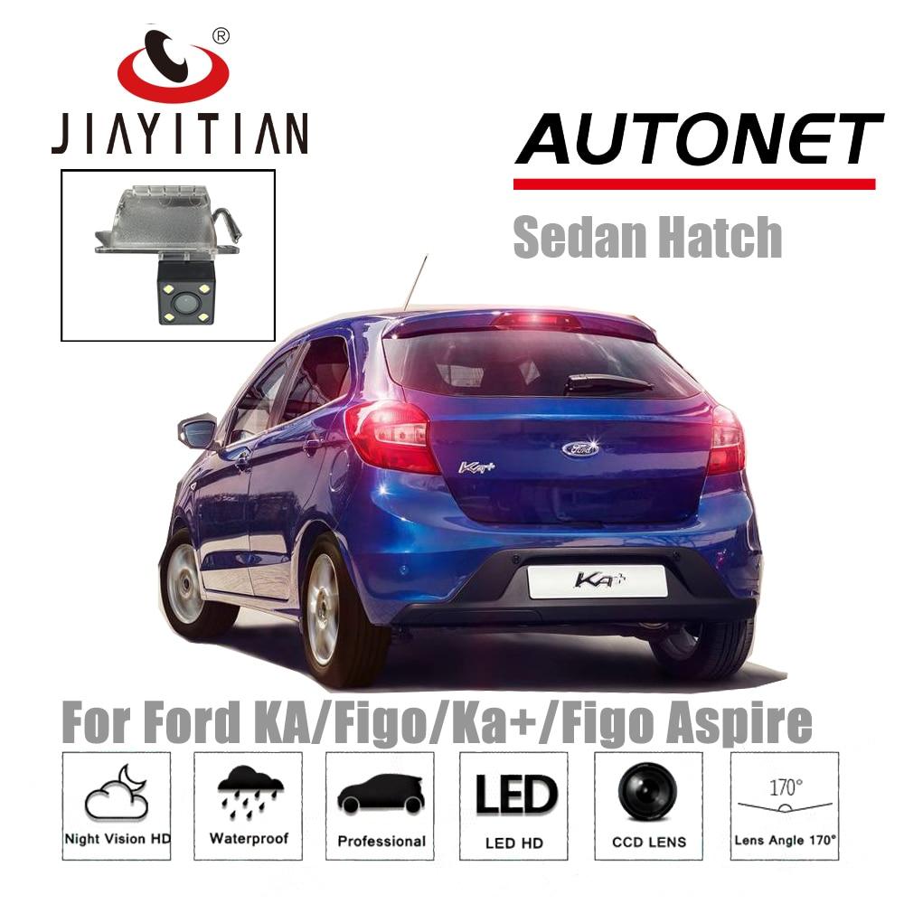 JIAYITIAN Rear View Camera For Ford KA/Figo/Ka+/Figo Aspire/CCD/Night Vision/license Plate Camera/Backup Camera Parking Camera