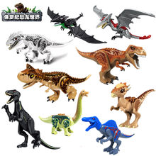 2019 Jurassic World 2 Park Dinosaurs Indoraptor Pterosauria Dino Building Blocks Figures Collection Learning Toys For Children(China)