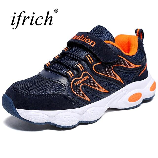 Новая детская обувь для мальчиков кроссовки крутая кожаная прогулочная обувь легкая спортивная обувь для мальчиков кроссовки