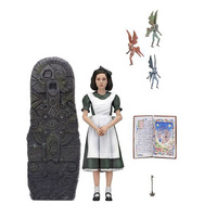 Original NECA Pans Labyrinth Figure Ofelia El Laberinto del Fauno Model Toys 18cm