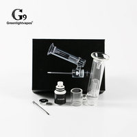 G9 510Nail enail Dry Herb Wax Oil Atomizer Vaporizer Water Pipe Dab Bubbler Smoking Pipe For 510 thread Box Mod Battery 0C