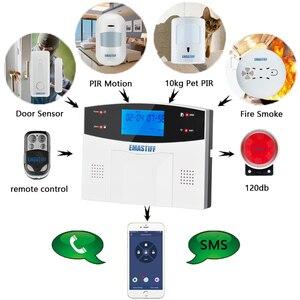 Image 3 - Wi Fi GSM PSTN система сигнализации, беспроводные и проводные детекторы сигнализации, реле умного дома, выход приложения, английский/русский/испанский/Франция/Итальянский