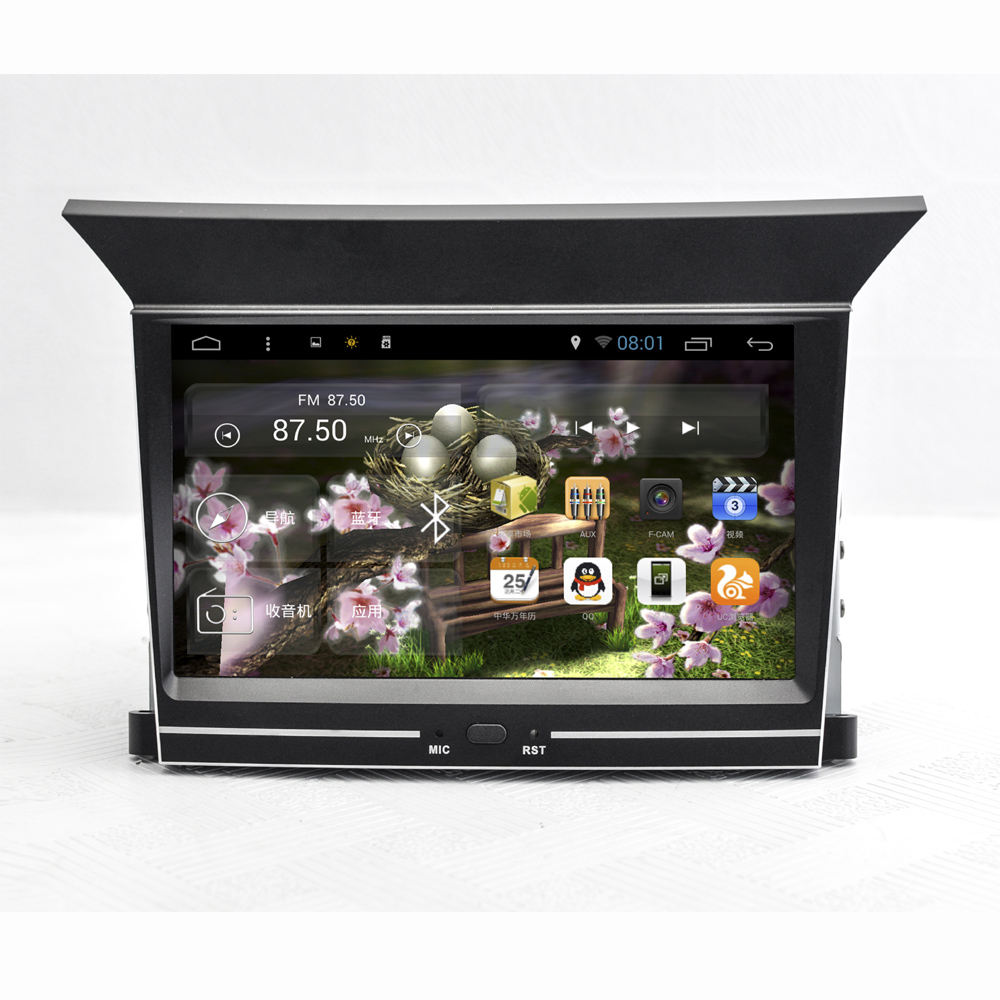 7 дюймов Экран Android 4.4 автомобильный навигатор GPS Системы стерео медиа авто радио dvd плеер Развлечения для Honda Pilot 2009 2013