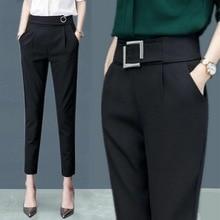MISSMEOW  harem pants summer women's pants women high waist  women pants casual office Trousers Slim Stretch women's trousers
