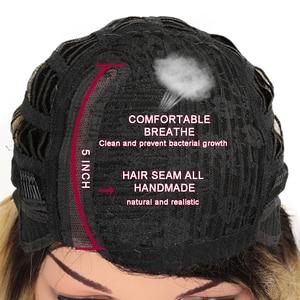 Image 5 - Magic Hair Synthetisch Haar Lace Front Pruik 24 Inch Lange Rechte Pruik Ombre Zwart Roze Cosplay Pruik Hittebestendige Synthetische haar