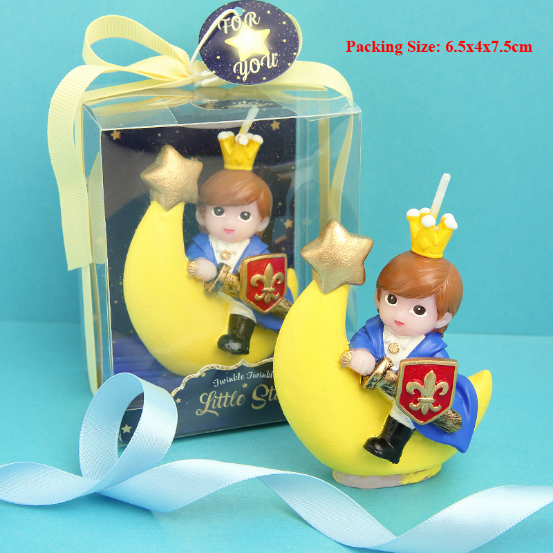 candle birthday crown prince baby 1st birthday candle decoration boy children kids party supplies prince decoration cake candle in Cake Decorating Supplies from Home Garden