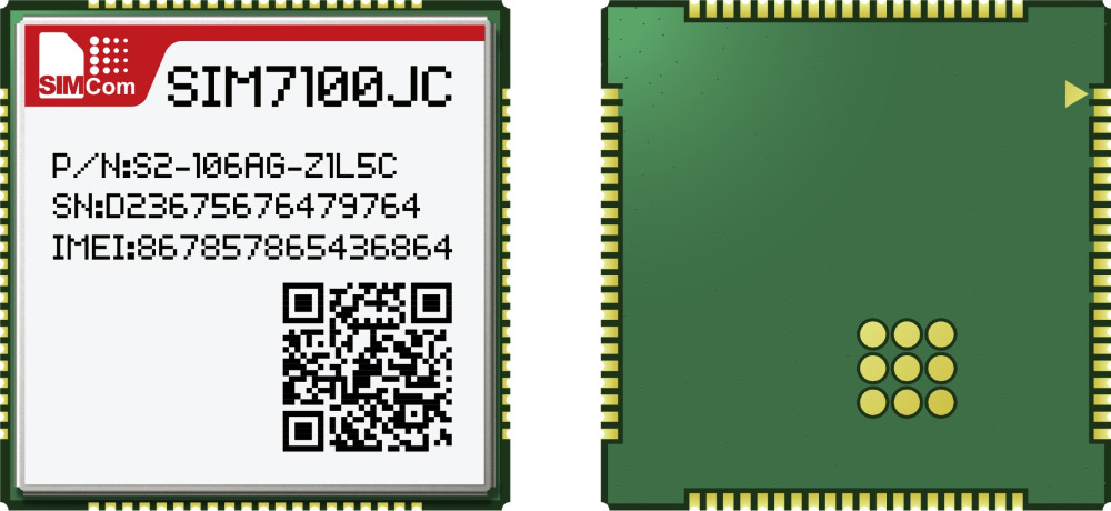 JINYUSHI For  Sim7100JC LCC 4G 100% New&Original TDD/FDD LTE WCDMA Support GPS Module In The Stock Free Shipping