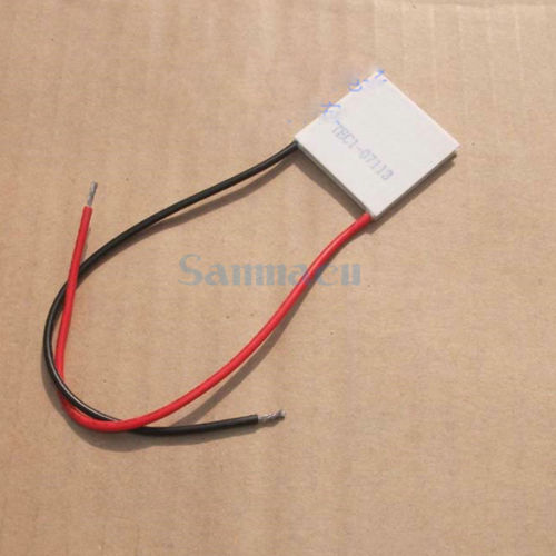 30x30x3.2mm 13A 8.4V 61W TEC1 07113 Thermoelectric Cooler Peltier Heatsink|heatsink|heatsink peltier|heatsink cooler - title=