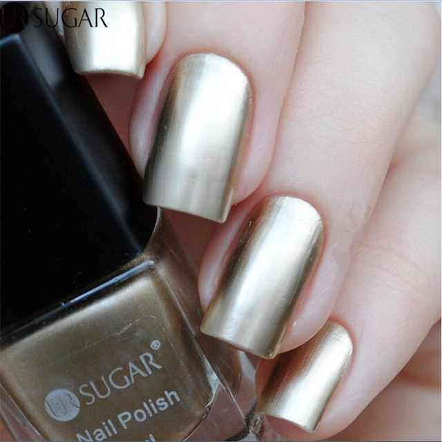 UR SUGAR Metallic Nail Polish Mirror Effect Gorgeous 6ml Metal ...