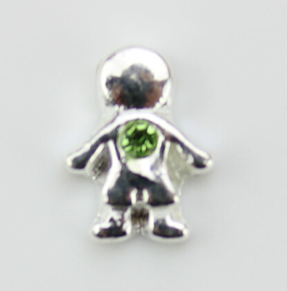 little boy happy silver sterling pendant birthstones baby with in charms necklace charm