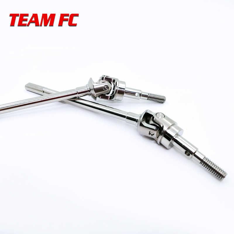 2 pcs Staal Vooras CVD Universal Shaft voor Axiale SCX-10II 90046 S92