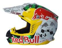 Ece aprobado material abs rojo toro motocicleta motocross dirt bike capacetes cascos moto casque