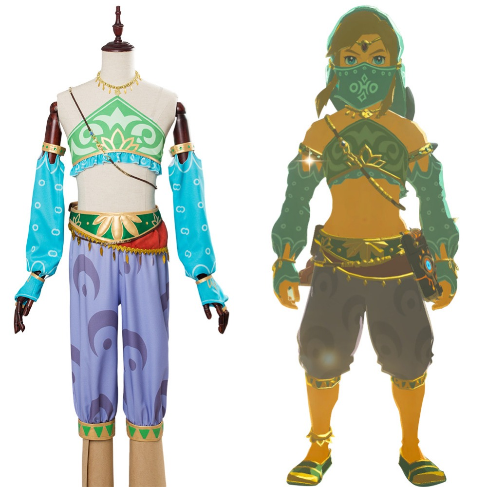 The Legend of Zelda: Breath of the Wild Link Outfit Cosplay Costume