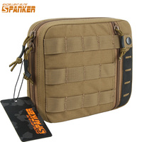 EXCELLENT ELITE SPANKER Outdoor Tactical Nylon EDC Pouch Military Army Molle Multi Purpose Tools Bag Hunting Waist Zipper Bags