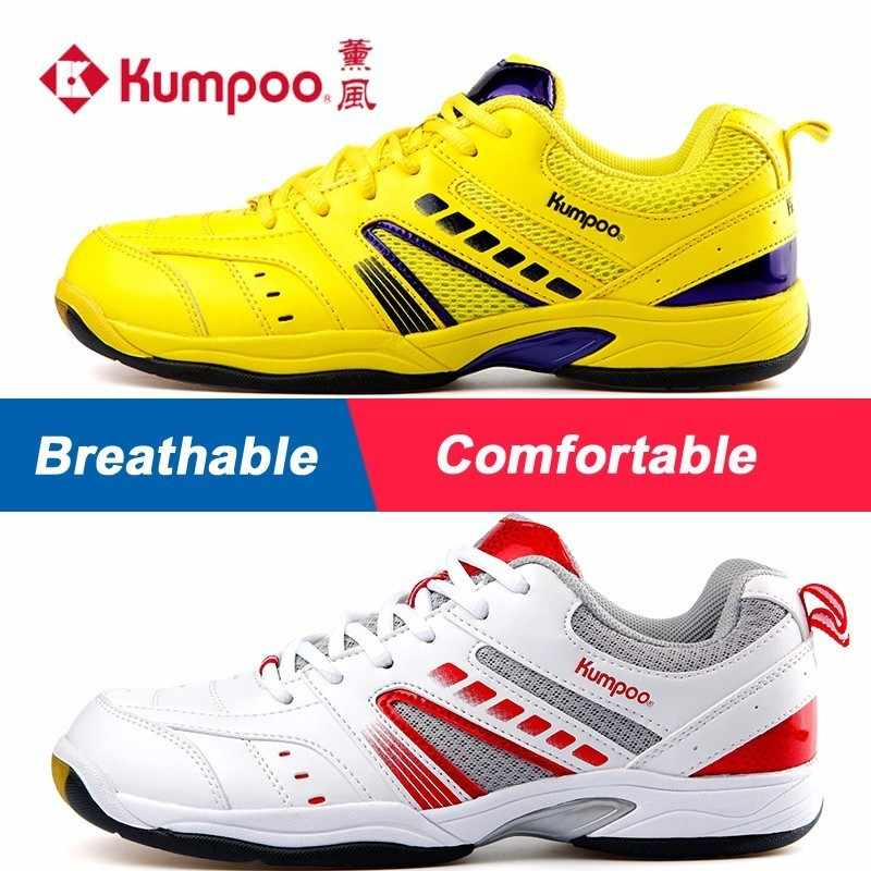 Kumpoo Badminton Shoes Antiskid Breathable Super Light Cushioning Sports Sneaker for Male and Female KH-19 L791OLB