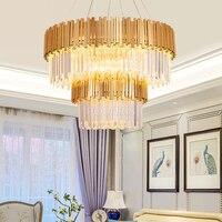 Современная хрустальная люстра осветительное оборудование роскошные современные люстры подвесной светильник для дома отель Ресторан Дек