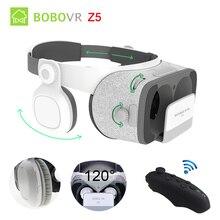 Оригинальный bobovr Z5 VR 3D стерео очки Google cardboard виртуальной реальности VR телефон гарнитура шлем коробка для 4.7-6.2 'мобильный телефон
