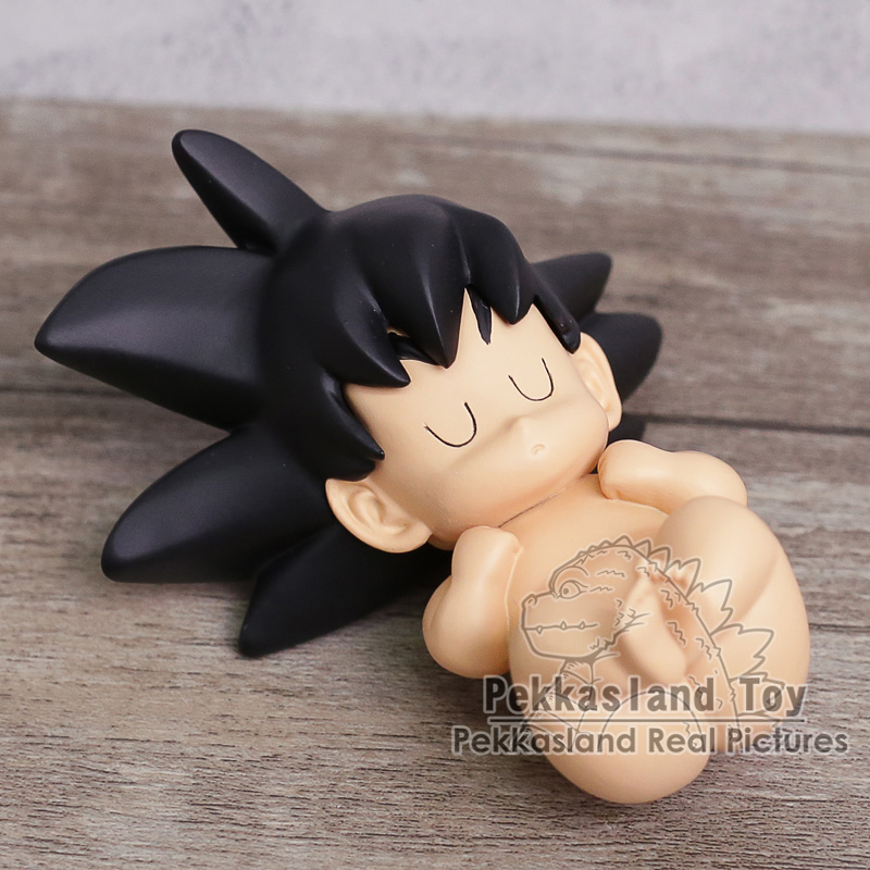 Dragon Ball Z Baby Child Son Gokou Sleeping Goku Mini PVC Figure Collectible Model Toy 8.5cm (in OPP Bag)