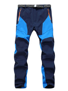 Ski-Pants Soft-Shell Winter Outdoor Waterproof New Male Sports Men Fleece Hiking Autumn
