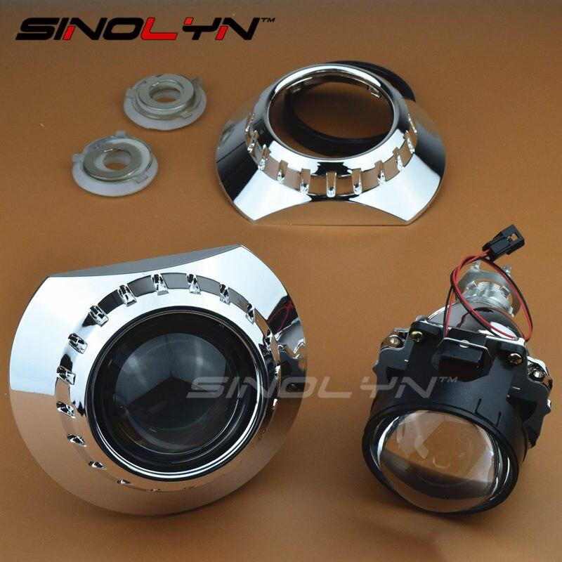 Mini Hid Bi Xenon Headlight Projector Lens With E46 R