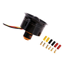 64mm ventilador de conducto QF2611 4500KV sin escobillas Outrunner Motor Kit RC Modelo FED Jet(China)