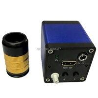Free transportation 1080P Full HD HDMI Video Industry Microscope Camera Industrial camera + Mini lens Large area visual CCD lens