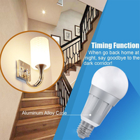 Modern LED Intelligent Bulb Color Changing E27 9W 600 Lumens Energy Saving Light Smart Phone WiFi With Remote Controller