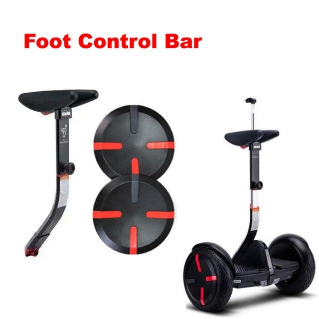 Original Xiaom MINI Handle Mini PRO Adjustable Foot Control XIAOMI MINI Scooter Handle Leg Bar Wheel Cover Sccoter Accessories