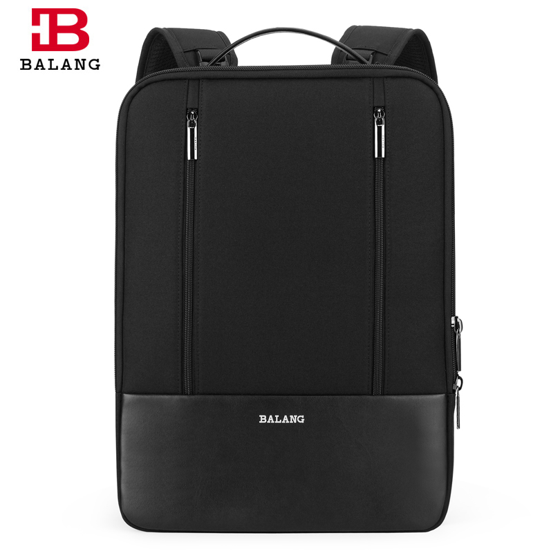 все цены на BALANG Men Fashion Backpacks Notebook Computer Bag Waterproof Laptop Backpack For 15.6 inch School Bags Shoulder Travel Rucksack