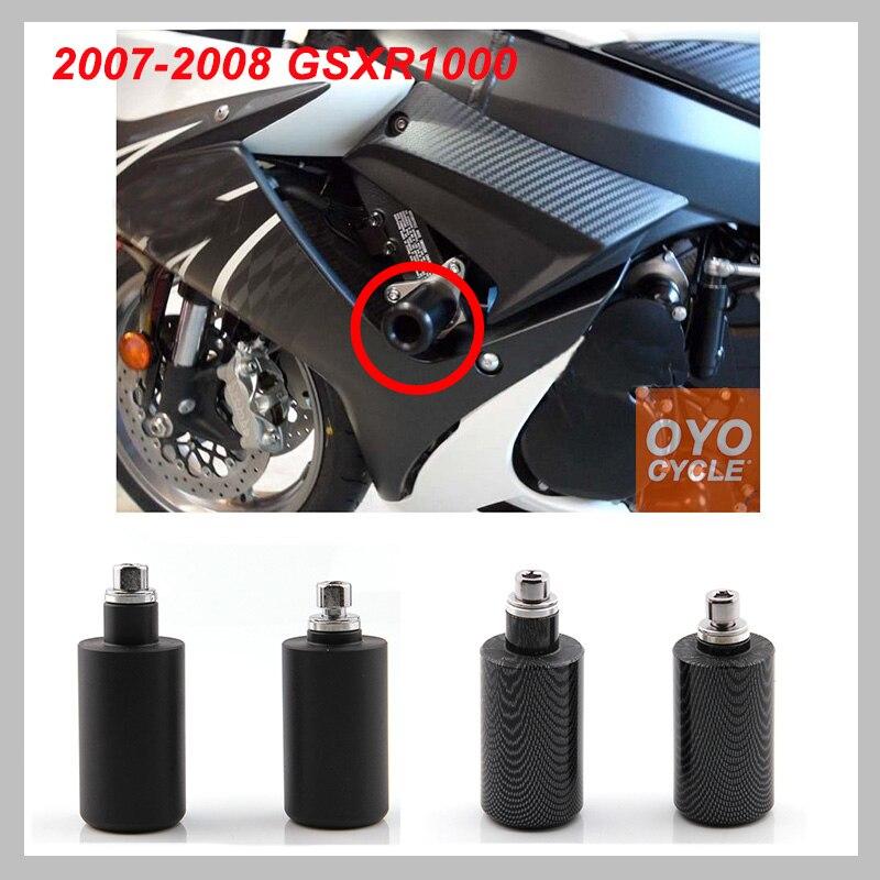 CRASH PAD SLIDER SET FRAME PROTECTION SUZUKI GSX-R 1000  2005-2006