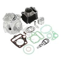Cylinder Piston Gasket Engine Rebuild Kit For Honda 70CC CRF70 ATC70 XR70 TRX70 72CM3 XL70 SL70 S65 CT70 CRF70F