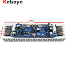 1 szt. Klasa AB L12 2 55V 120W pojedynczy kanał moc dźwięku zakończona płyta wzmacniacza Amp z radiatorem