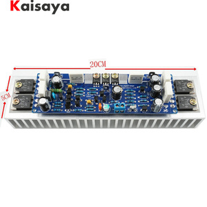 Image 1 - 1pcs Class AB L12 2 55V 120W Single Channel Audio Power Finished Amplifier Board Amp with Heatsink