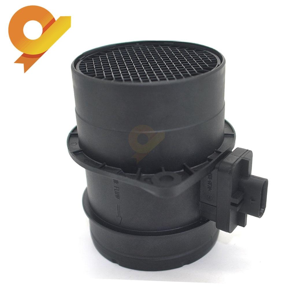 Mass Air Flow MAF Sensor For VW MULTIVAN TRANSPORTER V VI CADDY 3 IV GOLF 6 VII PASSAT CC 357 358 365 3G2 3G5 2.0TDI 0281002956