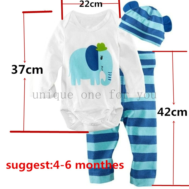New-baby-boys-girls-clothes-3pcs-Romperhatpants-cartoon-animal-pattern-baby-suit-for-baby-kids-boys-girls-clothing-sets-2