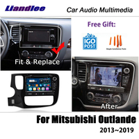 Liandlee Android For Mitsubishi Outlander 2013~2019 Stereo Radio Video Wifi Carplay DVD Map GPS Nav Navi Navigation Multimedia