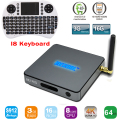 BB2 Pro 3 GB 16 GB Amlogic S912 Octa core Android 6.0 Malvavisco TV CAJA WiFi Bluetooth 4.0 HDMI 4 K 2 K 1000 M LAN Android TV BOX