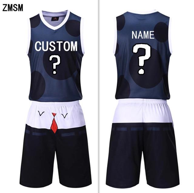 8e9ff1a7ede ZMSM 2018 Men s Basketball jerseys Kit Training Basketball Vest   Shorts  Blank basketball uniform Custom Sports clothing SY2018