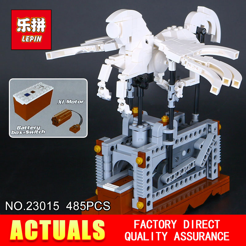NEW Lepin 23015 Science and technology education toys 485Pcs Building Blocks set Classic Pegasus toys children Gifts solar electronic building blocks children s electrical science and education diy toys christmas gift